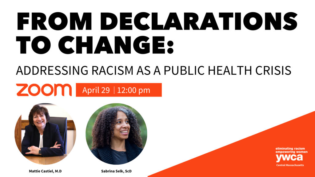 From Declarations to Change Addressing Racism as a Public Health Crisis